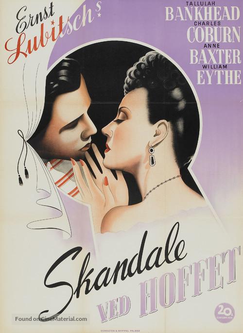 A Royal Scandal - Danish Movie Poster