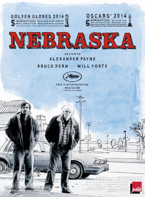 Nebraska - French Movie Poster