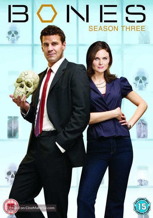 """""""Bones"""" - British DVD movie cover"""