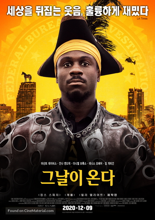 The Day Shall Come - South Korean Movie Poster