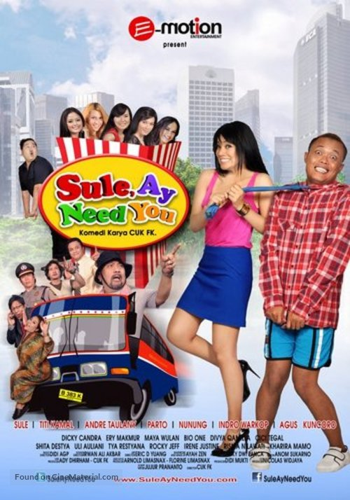 """""""Bullet in the Face"""" - Indonesian Movie Poster"""