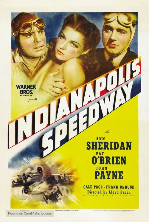 Indianapolis Speedway - Movie Poster