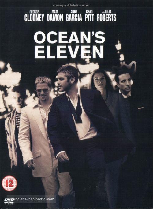 Ocean's Eleven - British DVD movie cover