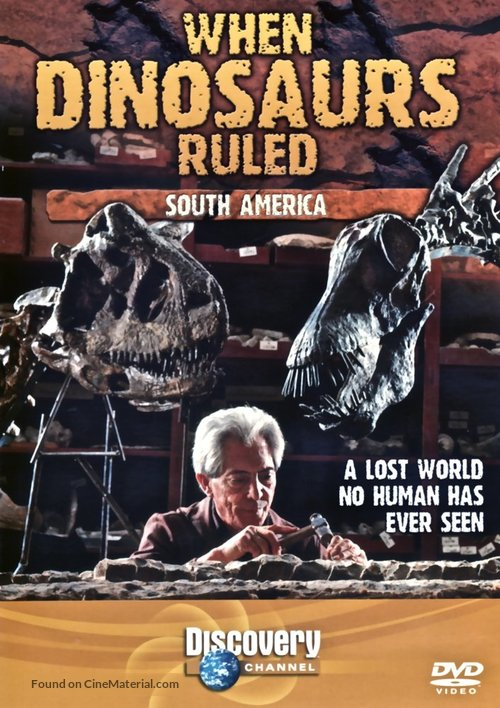 """""""When Dinosaurs Ruled"""" - British Movie Cover"""
