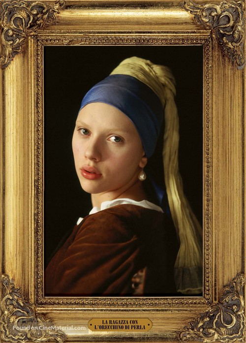 Girl with a Pearl Earring - Italian poster