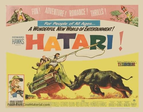 Hatari! - Movie Poster
