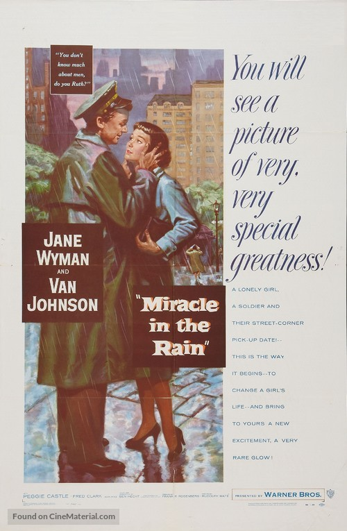 Miracle in the Rain - Movie Poster