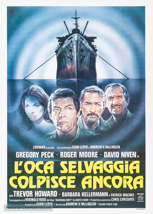 The Sea Wolves - Italian Movie Poster