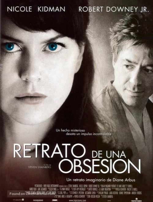 Fur: An Imaginary Portrait of Diane Arbus - Spanish Movie Poster