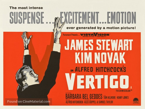 Vertigo - British Movie Poster