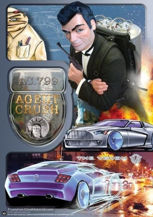 Agent Crush - poster
