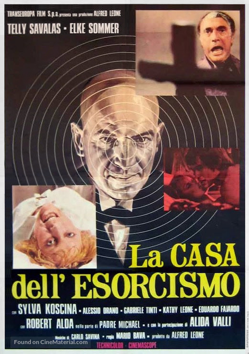 Lisa e il diavolo - Italian Movie Poster