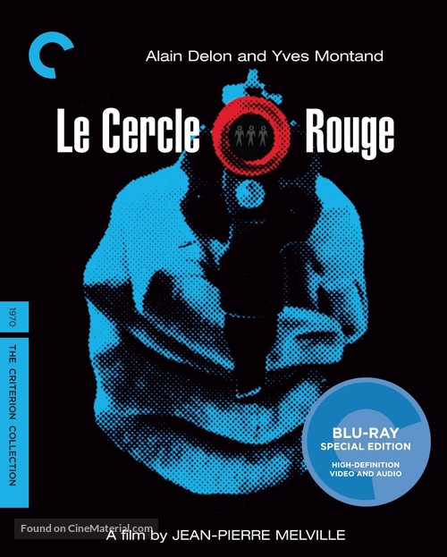 Le cercle rouge - Blu-Ray movie cover