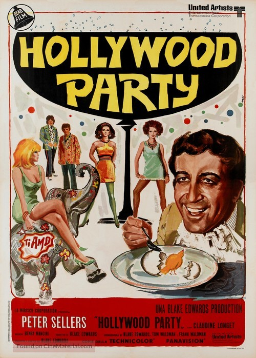 The Party - Italian Movie Poster