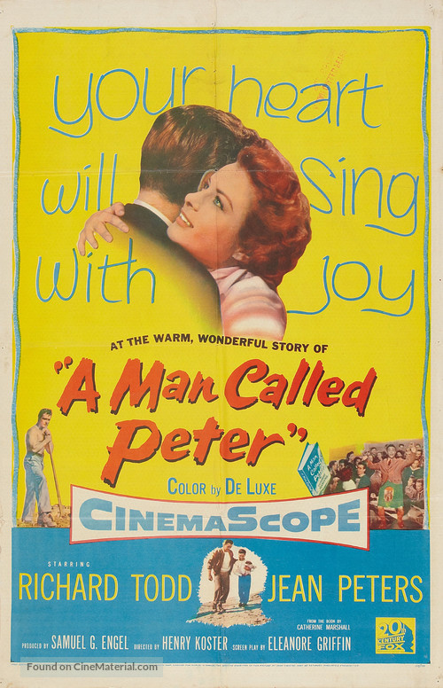 A Man Called Peter - Movie Poster