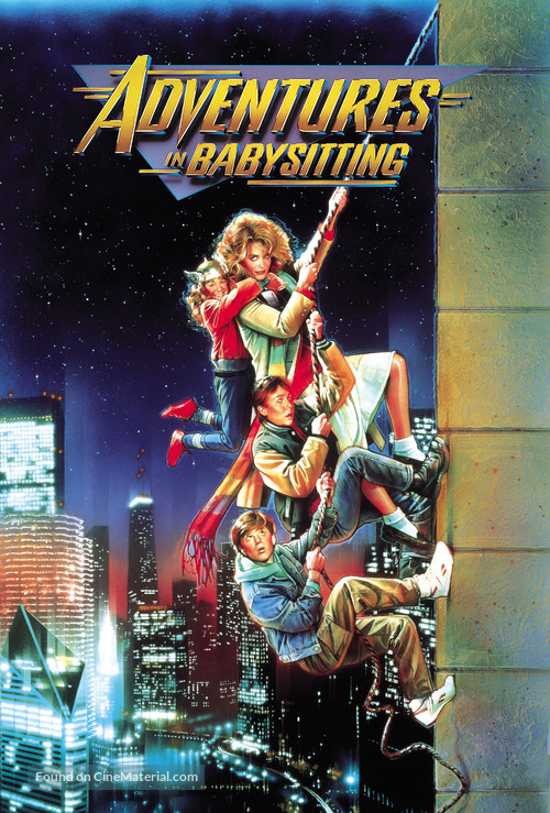 Adventures in Babysitting - Movie Cover