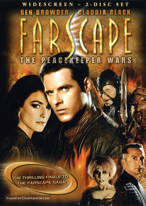 """Farscape: The Peacekeeper Wars"" - DVD movie cover"
