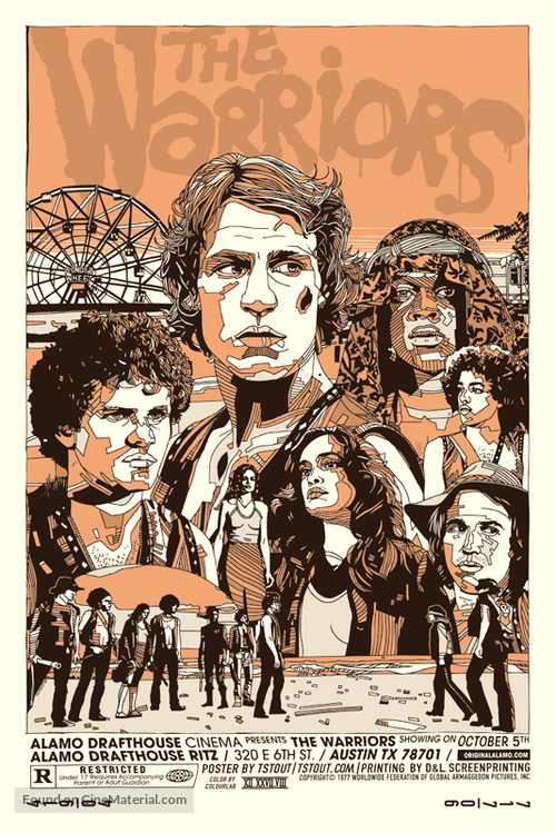 The Warriors - Movie Poster