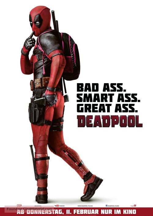 Deadpool - German Movie Poster