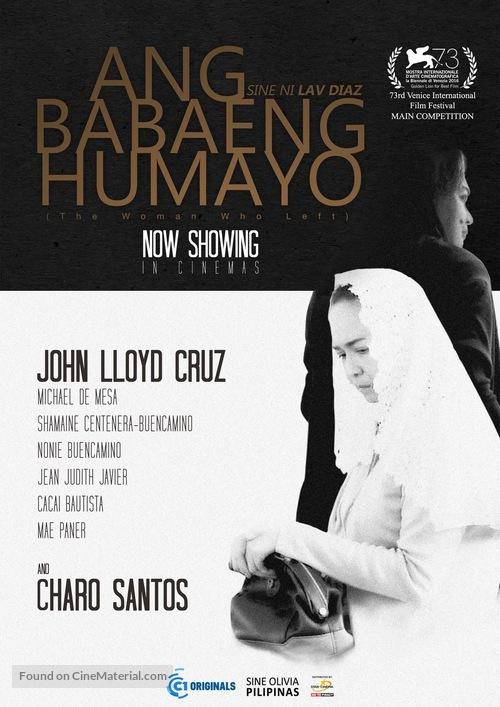 Ang babaeng humayo - Philippine Movie Poster