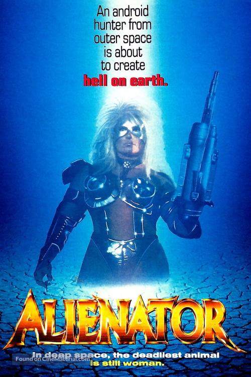 Alienator - Movie Poster