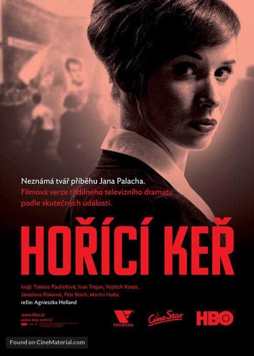 """""""Horící ker"""" - Czech Movie Poster"""