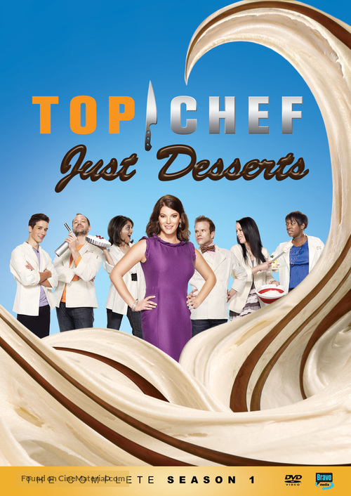 """Top Chef: Just Desserts"" - DVD movie cover"
