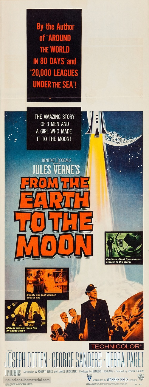 From the Earth to the Moon - Movie Poster
