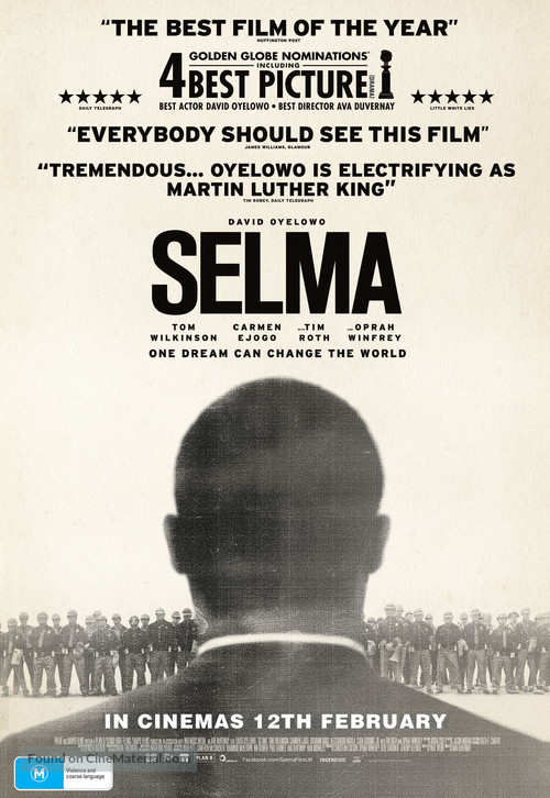 Selma - Australian Movie Poster