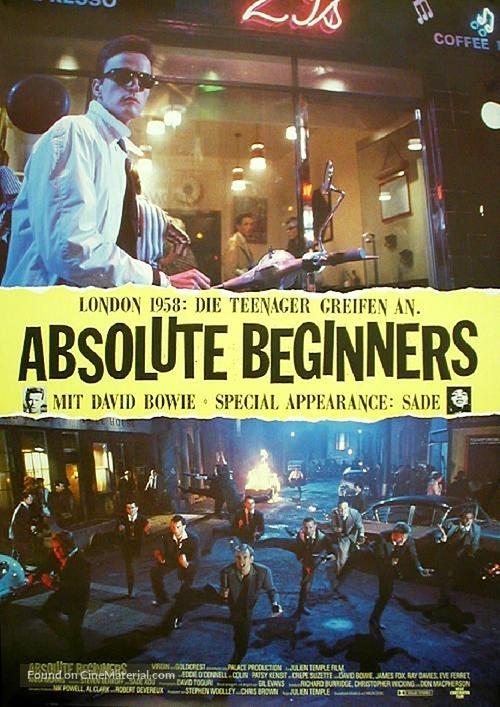 Absolute Beginners - German Movie Poster
