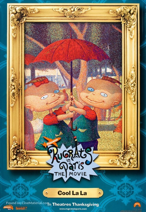 Rugrats in Paris: The Movie - Rugrats II - Movie Poster
