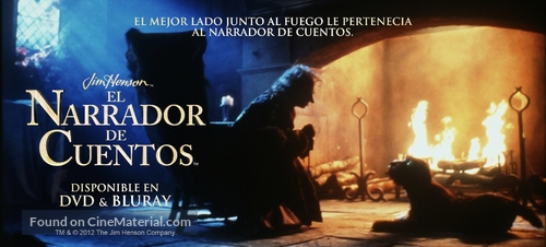 """""""The Storyteller"""" - Mexican Video release movie poster"""