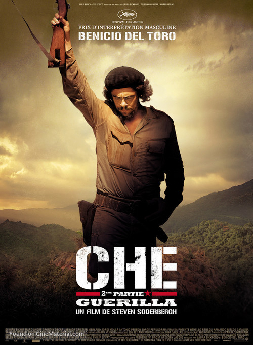 Che: Part Two - Belgian Movie Poster