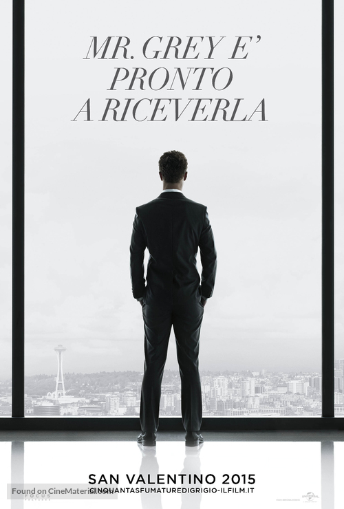 Fifty Shades of Grey - Italian Movie Poster