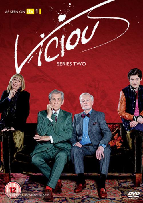 """Vicious"" - British DVD movie cover"