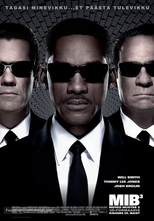 Men in Black 3 - Estonian Movie Poster