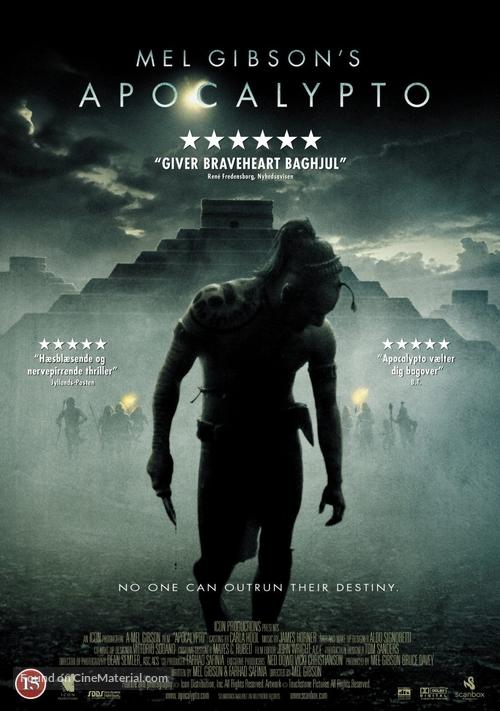Apocalypto - Danish Movie Cover