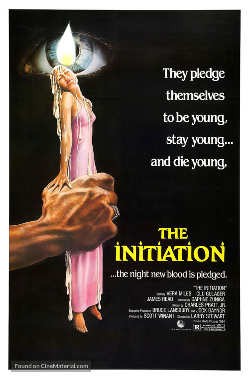 The Initiation - Movie Poster