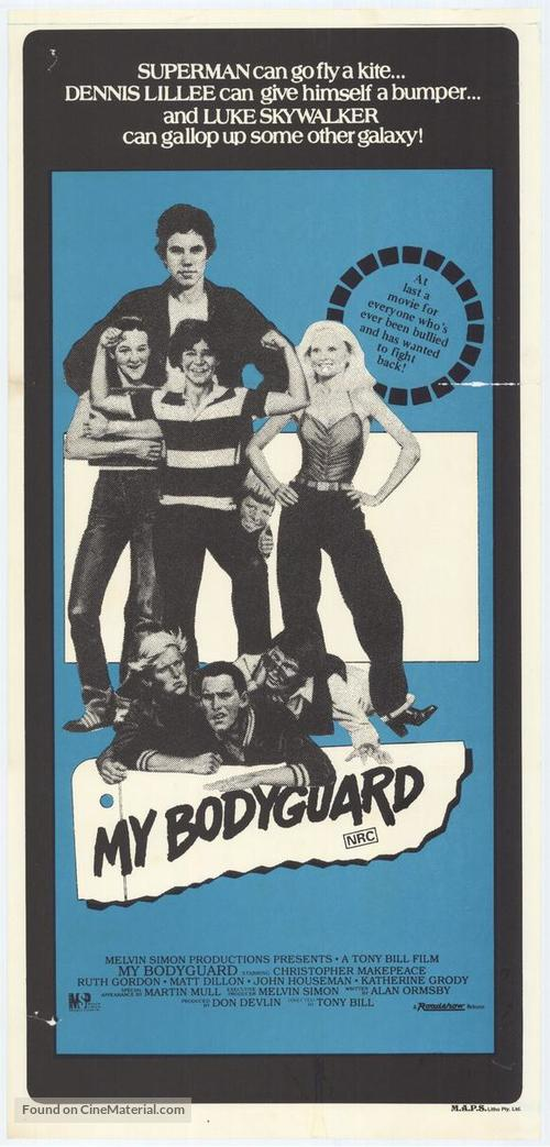My Bodyguard - Australian Movie Poster