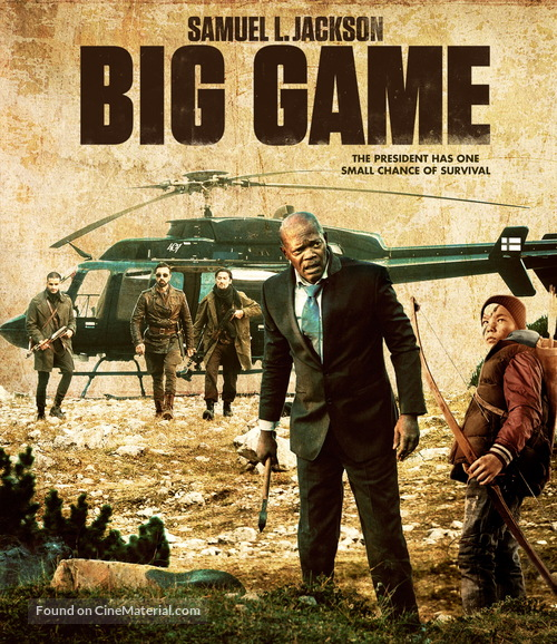 Big Game - Blu-Ray movie cover