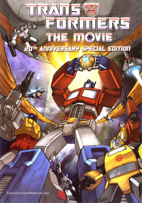 The Transformers: The Movie - DVD movie cover