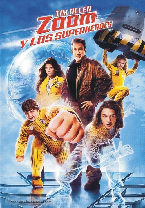 Zoom - Argentinian DVD movie cover