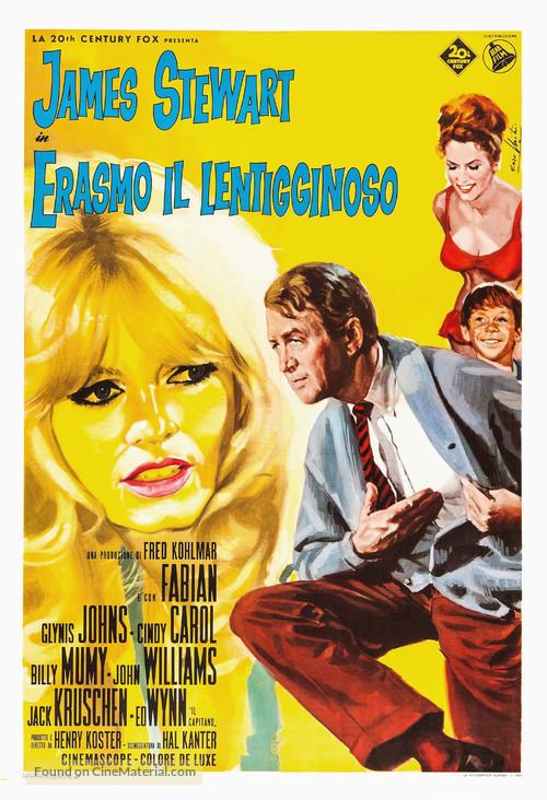 Dear Brigitte - Italian Movie Poster