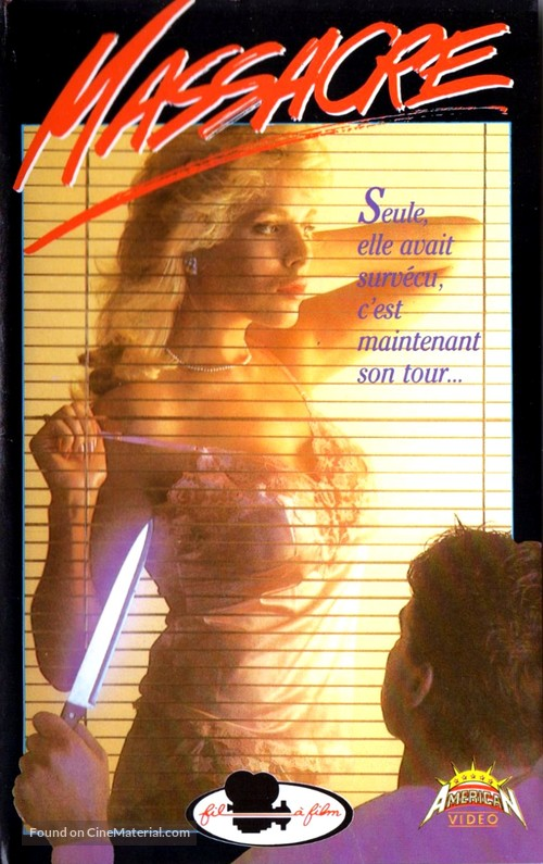 Sorority House Massacre - French VHS movie cover