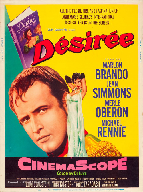 Desirée - Movie Poster