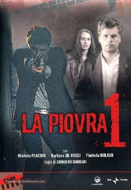 """La piovra"" - Italian Movie Cover"