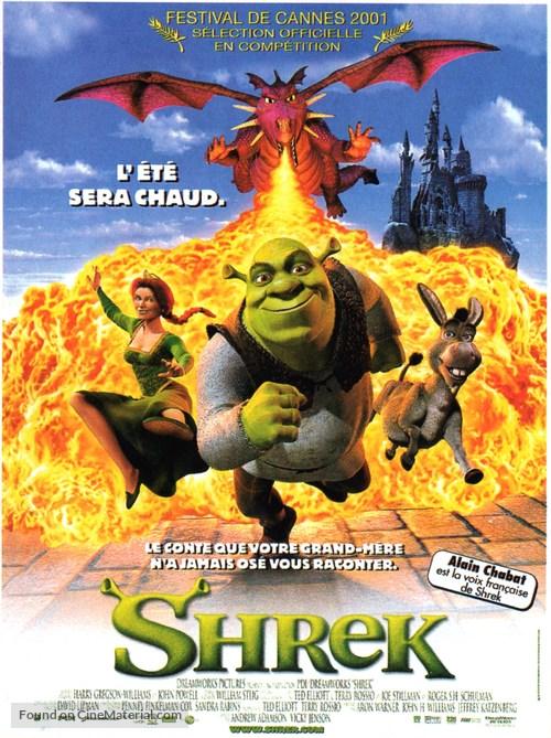 Shrek - French Movie Poster