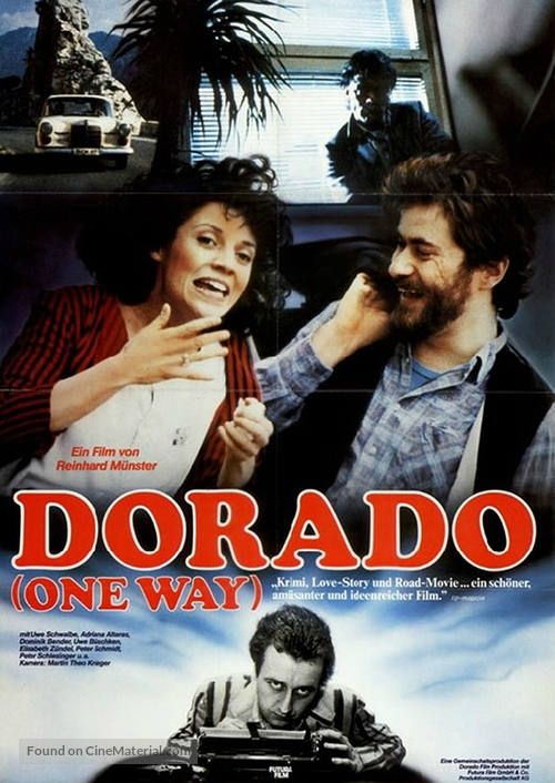 Dorado - One Way - German Movie Poster