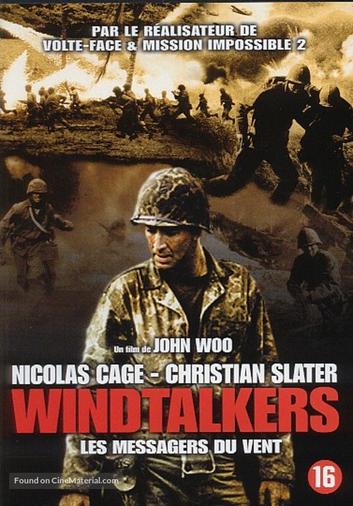 Windtalkers - Dutch DVD movie cover