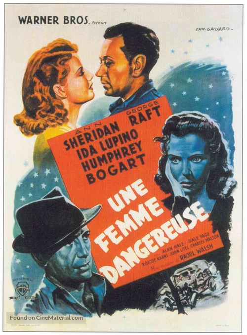They Drive by Night - French Movie Poster